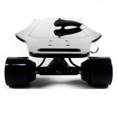 Tranceboard 33-6 Carbon Electric Skateboard In-wheel-Motors back