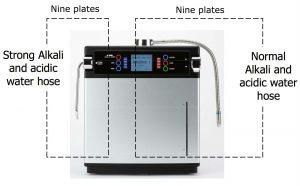 AquaVolta EOS PLUS 9 and 7 plates electrodes