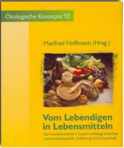 EAW Book Manfred Hoffmann %22Vom Lebendigem ins Lebensmittel%22