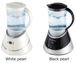 Vital Water Plus Hydrogen Rich Water System White Pearl Black Pearl