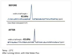 Vital Water Plus Hydrogen Rich Water System cluster width