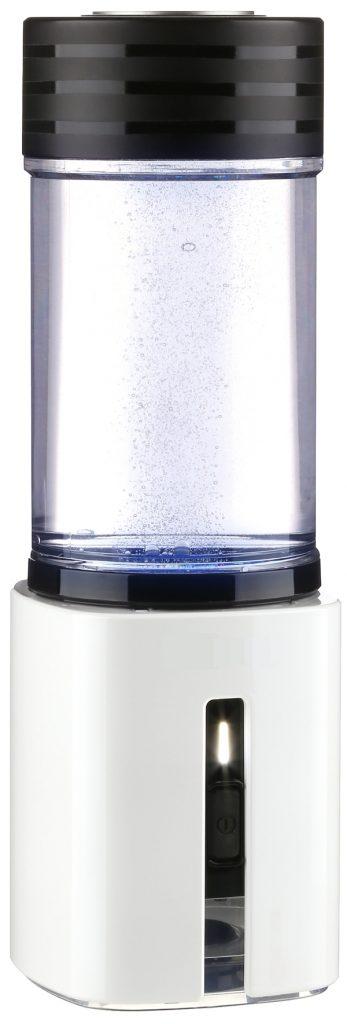 AquaVolta Hydrogen Booster portable PEM Hydrogen generator side