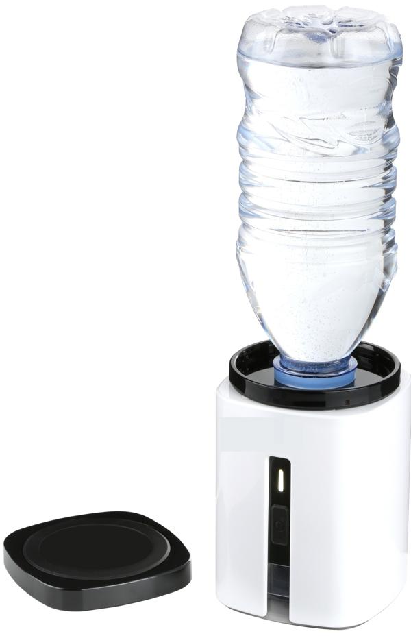 AquaVolta Hydrogen Booster portable PEM Hydrogen generator with bottle