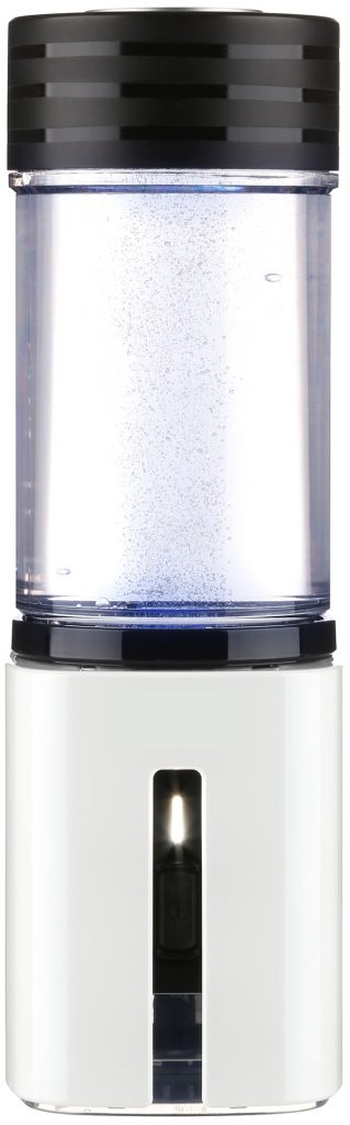 AquaVolta Hydrogen Booster portable PEM Hydrogen generator with front