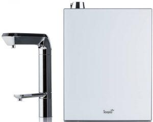 AquaVolta Ionpia UD-1000 undersink ionizer and faucet1200