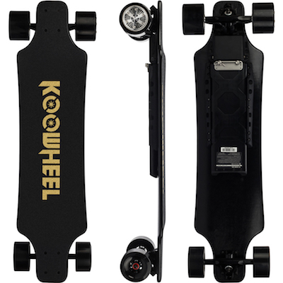 Koowheel 25-7 Electric Skateboard with Hub-Motors and external battery 400
