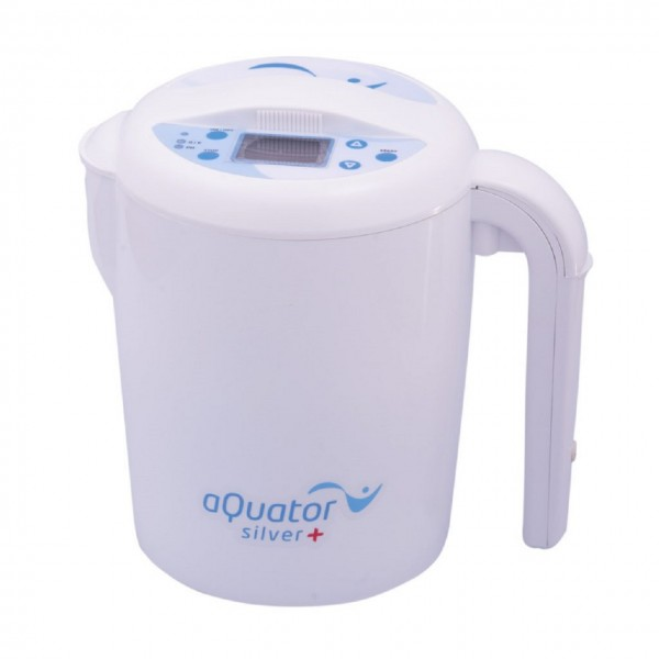 AQuator Silver | Batch ionizer | Alkaline, acidic and colloidal silver water