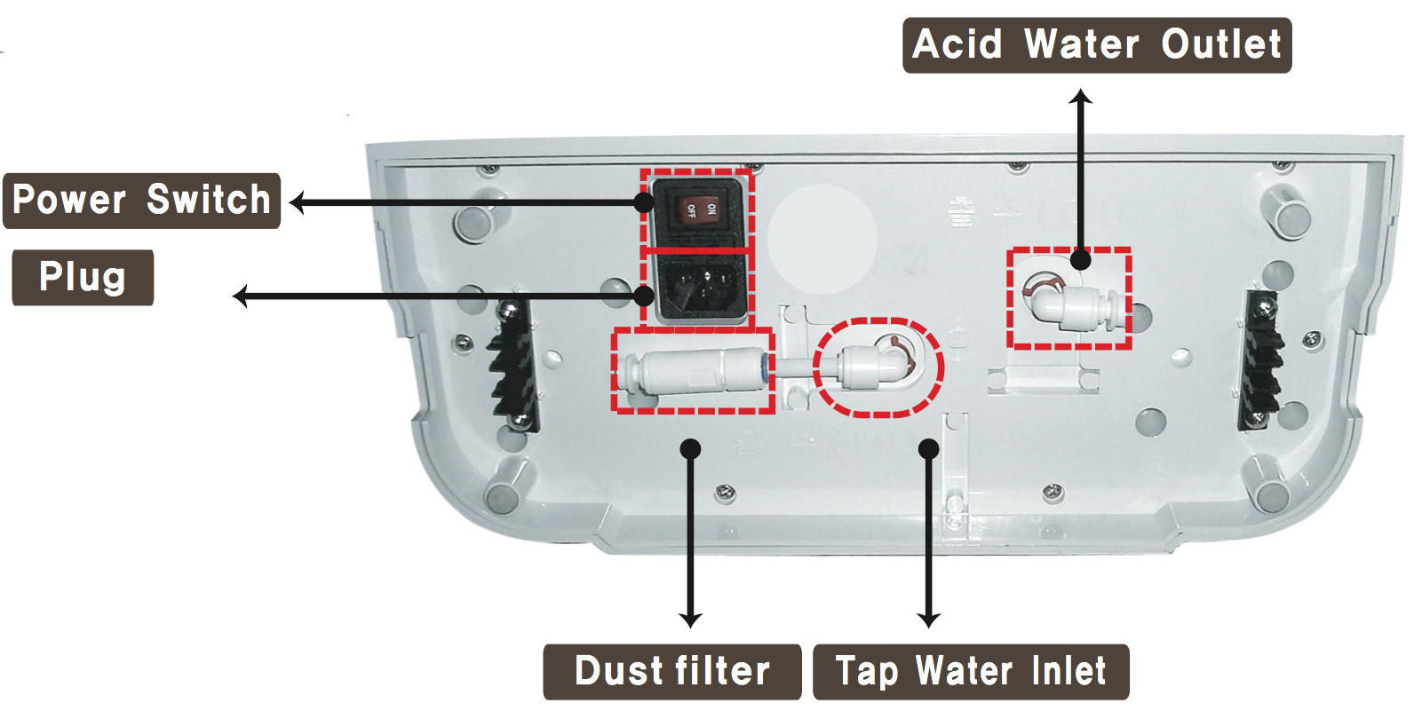 Aquavolta Eos Touch Water Ionizer For Ionized Transormer Dc Power Supply Wiring Diagram Preview