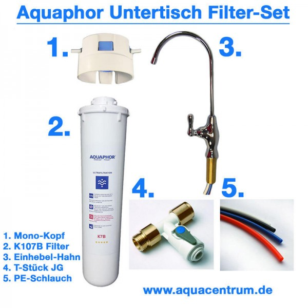 Water Filter Aquaphor Set incl. Accessories