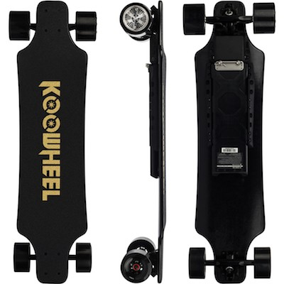 Koowheel 25-7 | Electric skateboard with Hub-Motors | swappable battery