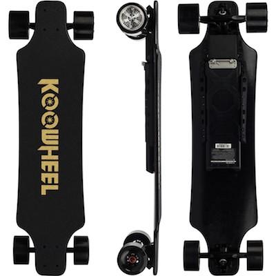 Koowheel 25-7 | Electric skateboard with Hub-Motors | swappable battery