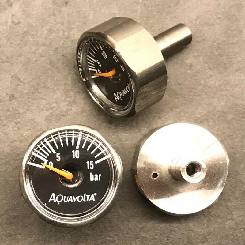 Μανόμετρο Aquavolta® Mini από ανοξείδωτο χάλυβα