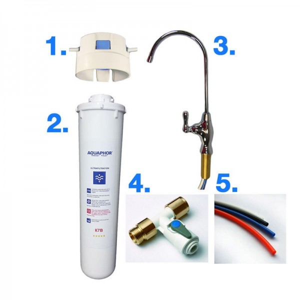 Water Filter Aquaphor Set incl. Accessories
