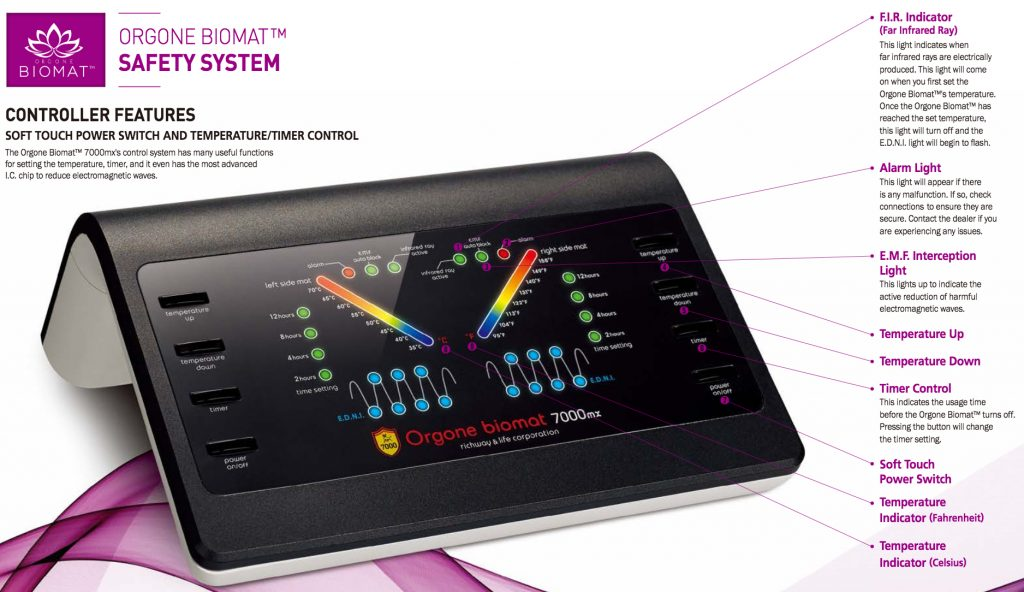 Orgone Biomat controller