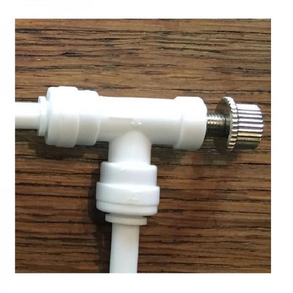 Regulatör & kesme valfi 1/4″ inch, hızlı kurulum